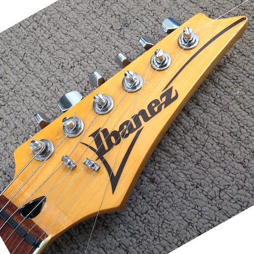 Ibanez RT 650 Headstock